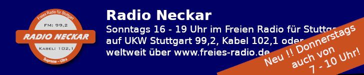 Radio Neckar im Freien Radio für Stuttgart